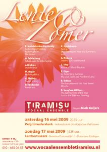 Lente & zomer poster