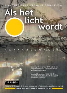 Poster Als het licht wordt